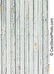 fond, vieux, blanc, bois, naturel, mur, vendange