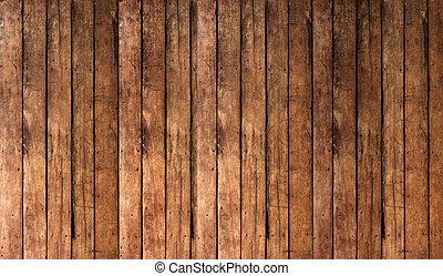 fond, vieux, planches, bois