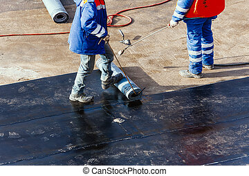 fondazione, appartamento, waterproofing, tetto, riparazione