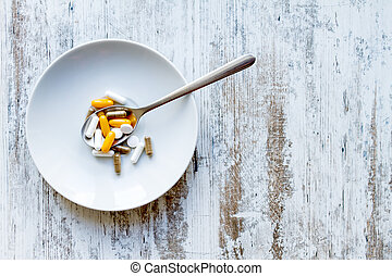 fondo alimento, suplementos