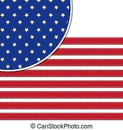 fondo, americano, symbolizing, bandiera, 4, stelle, luglio, giorno, indipendenza