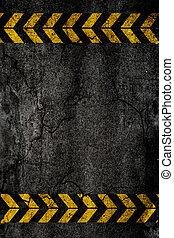 fondo, asfalto