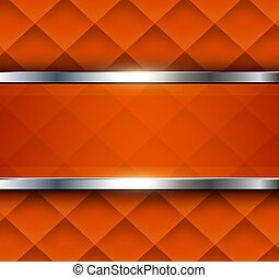 fondo, astratto, arancia