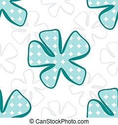 fondo., astratto, fiore, pattern., seamless