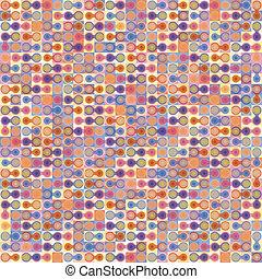 fondo., astratto, vettore, geometrico, colorito