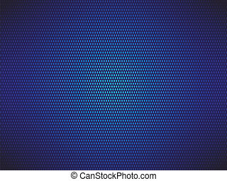 fondo azul, punteado