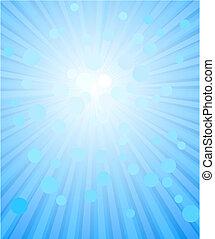 fondo azul, resumen