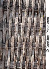 fondo., bambù, struttura