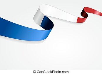 fondo., bandiera, vettore, illustration., francese