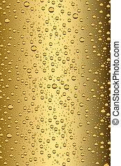 fondo, birra, vettore, bolle, illustrazione