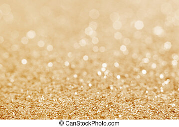 fondo., brillare, defocused, oro