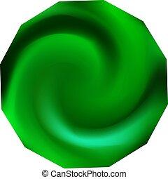 fondo., chromatic, polygonal