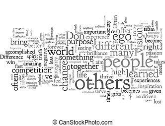 fondo, concetto, wordcloud, alto, testo, scopo