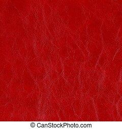 fondo, di, rosso, genuino, cuoio, alto, risoluzione