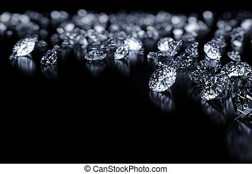 fondo, diamanti