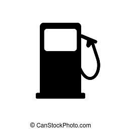 fondo, distributore di benzina
