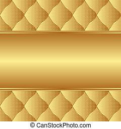 fondo dorado