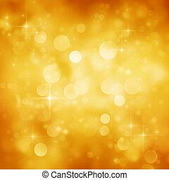 fondo dorado, festivo