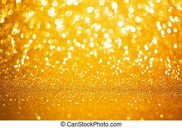 fondo dorado, luces