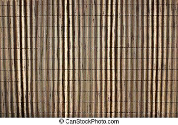 fondo., estera bambú