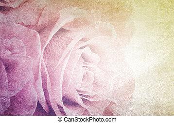 fondo, fiore