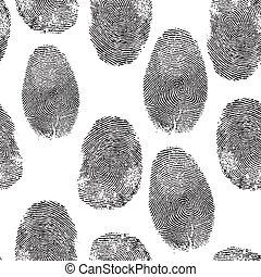 fondo., impronta pollice