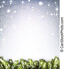 fondo., invierno
