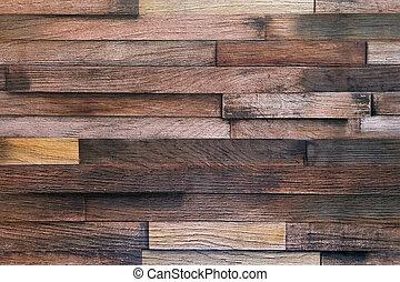 fondo, legno, legno, planks., parete, struttura, vecchio