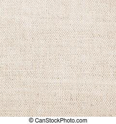 fondo, lino, struttura, bianco