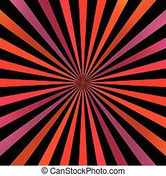 fondo., luminoso, spirale, colorito