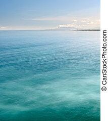 fondo, mare, natura