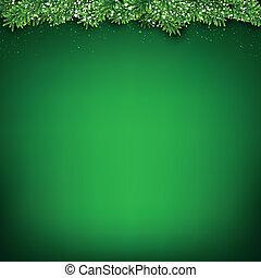fondo., natale, verde