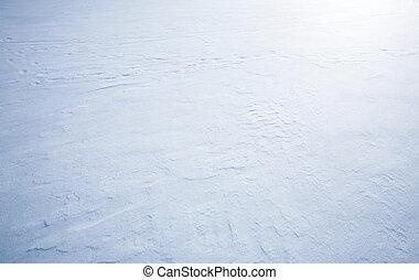 fondo, neve, struttura