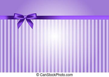 fondo púrpura, arco