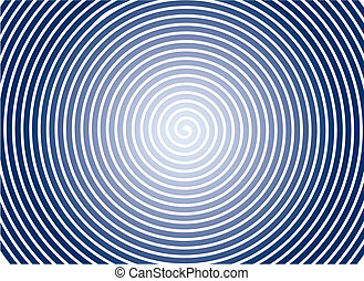 fondo., resumen, espiral, vector.