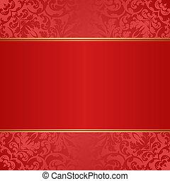 fondo rojo
