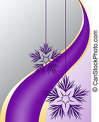 fondo, snowfla, gray-purple