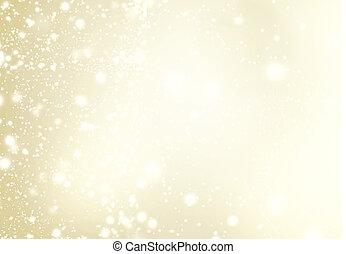 fondo, snowflakes., brillare, astratto, lampeggiamento,...