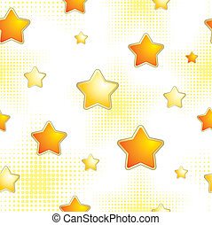 fondo, stelle, seamless