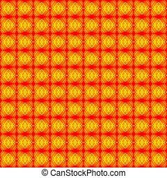 fondo., strisce, rosso giallo, cuori