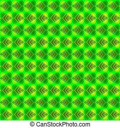 fondo., strisce, verde, erboso, cuori