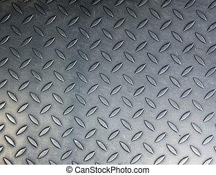 fondo, struttura, di, baluginante, metallo
