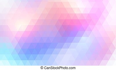 fondo, triangolo, mosaico