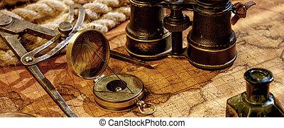 fondo., viaje, concepto, navegación, geografía
