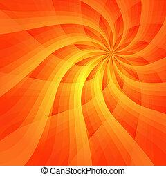 fondo, vivido, astratto, arancia