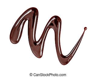goutte chocolat blanc goutte isol fond chocolat. Black Bedroom Furniture Sets. Home Design Ideas