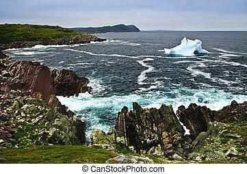 fondre, iceberg