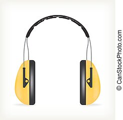 fones, para, proteção orelha
