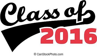 Font - Class of 2016