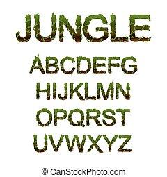 font, giungla